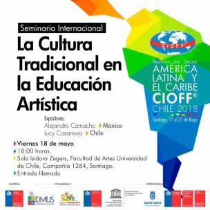 Seminário de Cultura durante a Reunião Anual do CIOFF Latino-Americano