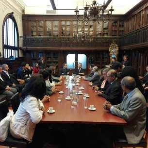Reunião entre CIOFF e Ministério da Cultura e patrimônio do Chile
