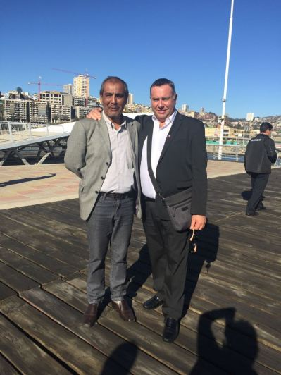 Sr. Philippe Beaussant, Presidente do CIOFF Mundial e Sr. Marco Antônio Carvalhaes- Presidente CIOFF Brasil