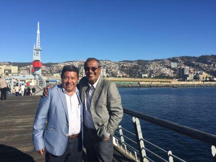 Sr. Alejandro Camacho Gonzales, Vice-presidente Cultural do CIOFF Mundial e Sr. Marco Antônio Carvalhaes- Presidente CIOFF Brasil